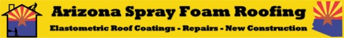Spray foam roofing contractor in Mesa, Arizona
