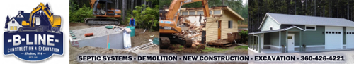 B-Line Construction & Excavation - Septic installation & pumping - Remodeling and Construction