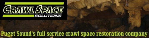 Crawl Space Solutions of Gig Harbor, your full service crawlspace restoration company.