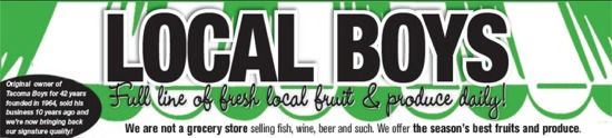 Local Boys Gig Harbor - Fresh Fruit & Produce, Jams & Jellies, Tortilla Chips & Salsa