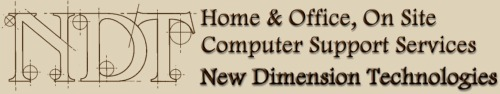Gig Harbor Computer Repair and Support Specialists  - New Dimension Technologies