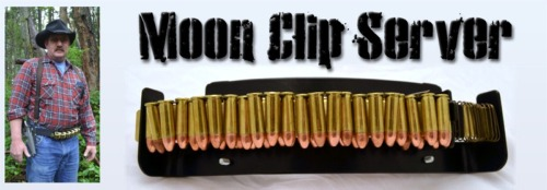 The Moon Clip Server - A Speed Steel Shooter's Revolver Moonclip Dispenser - Shooting Equipment